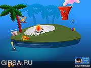 Флеш игра онлайн Найди выход с острова