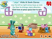Флеш игра онлайн Jojo Hide & Seek Game