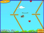 Флеш игра онлайн Jump Mouse Jump