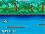 Флеш игра онлайн Jungle Frog