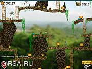 Флеш игра онлайн Сокровища Джунглей