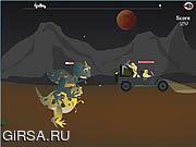 Флеш игра онлайн Освобождении из парка Юрского периода / Jurassic Escape