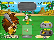 Флеш игра онлайн Юрский король Homerun