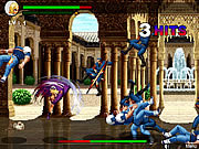 Флеш игра онлайн KOF Fighting