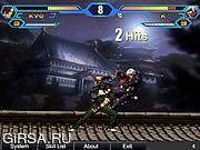 Флеш игра онлайн Король Бойцов Крыла / King Of Fighters Wing