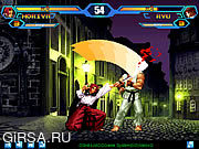 Флеш игра онлайн King Of Fighters V 1.3