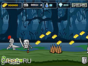 Флеш игра онлайн Knight Mighty Run