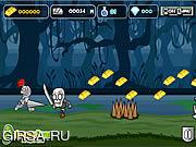 Флеш игра онлайн Knight Mighty Run