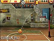 Флеш игра онлайн Кунг-Фу Обручи Безумие / Kung Fu Hoops Madness
