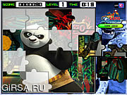 Флеш игра онлайн КУнг-фу Панда Пазл
