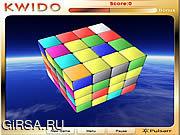 Флеш игра онлайн Цветной пазл / Kwido