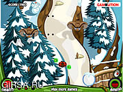 Флеш игра онлайн Божья коровка / Ladybug Journey