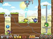 Флеш игра онлайн Laser Cannon 3