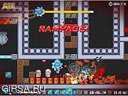 Флеш игра онлайн Удаление же цветные блоки