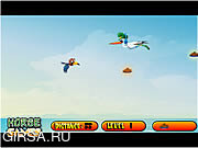 Флеш игра онлайн Learn To Fly Little Bird 2
