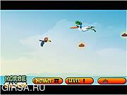 Флеш игра онлайн Учимся летать / Learn To Fly Little Bird 2