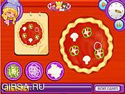Флеш игра онлайн Лили Пицца Производитель / Lily's A Pizza Maker