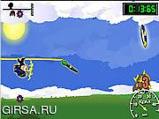 Флеш игра онлайн Линия бегунок 2 / Line Runner 2