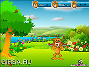 Флеш игра онлайн Лев Голода / Lion Hunger