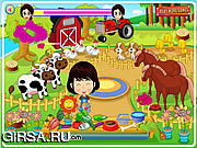 Флеш игра онлайн Маленький Милый Фермер
