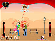 "Флеш игра онлайн Lover""s Day Kiss"