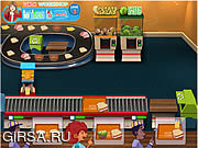 Флеш игра онлайн Королева кухни / Lunch Work Shop