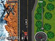 Флеш игра онлайн Сумасшедший грузовик 3