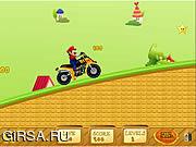Флеш игра онлайн Мото-Марио