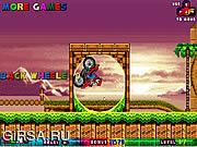 Флеш игра онлайн Марио на Квадроцикле в Мире Соника