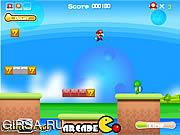 Флеш игра онлайн Приключение Марио / Mario Adventure