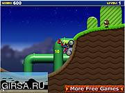 Флеш игра онлайн Mario Bike Game