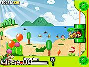Флеш игра онлайн Mario Bloons Shooting