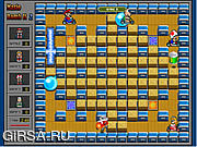 Флеш игра онлайн Приключение Марио 2 / Mario Bomb It 2