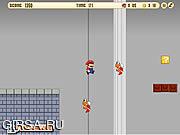 Флеш игра онлайн Mario Castle
