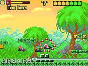 Флеш игра онлайн Кругооборот карта Марио / Mario Kart Circuit