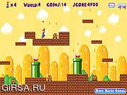 Флеш игра онлайн Mario Runner