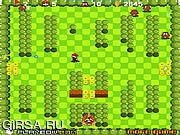 Флеш игра онлайн Война  Марио