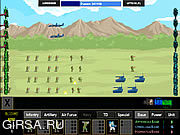 Флеш игра онлайн Массированная Атака 2 / Massive War 2