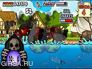 Флеш игра онлайн Средневековая акула