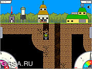 Флеш игра онлайн Мега Шахтер