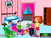 Флеш игра онлайн Уборка в доме