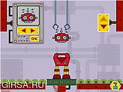 Флеш игра онлайн Лаборатория робота Микки