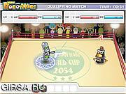 Флеш игра онлайн Mini Robot Wars