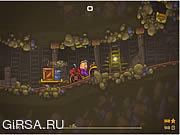 Флеш игра онлайн Карьерный Самосвал 2 - Транспортная Тележка