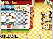 Флеш игра онлайн Мама Пицца