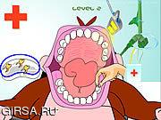 Игра Monkey Dentist