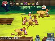 Флеш игра онлайн Обедающий обезьяны / Monkey Diner