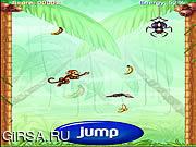 Флеш игра онлайн Обезьяна скачет