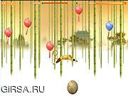 Флеш игра онлайн Бег обезьяны