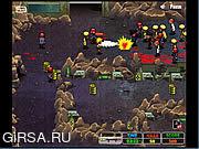 Флеш игра онлайн Крутые монстры против зомби / Monster Flood